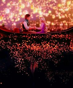 Tangled, this picture makes me happy!!