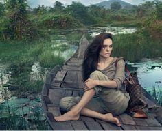 Angelina Jolie by Annie Leibovitz (c)