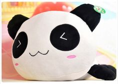 The Animated Lovely Panda Pillow/The Good Gift for the Valentine's Day