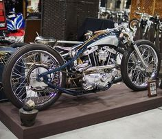 Ironhead tracker | Bobber Inspiration - Bobbers and Custom Motorcycles | the-ghost-darkness August 2014