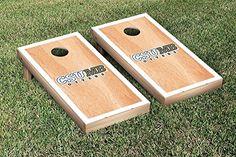 California State Monterey Bay Otters Cornhole Game Set Hardcourt Border Version >>> Visit the image link more details.