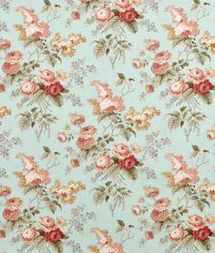 Shop Waverly Emma's Garden Mist Fabric at onlinefabricstore.net for $13/ Yard. Best Price & Service.