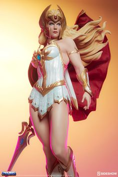 The She-Ra Statue is now available at Sideshow.com for fans of Masters of the Universe, Skeletor and He-Man.