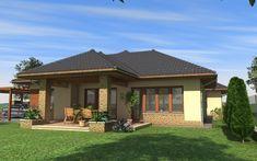 Egyszintes családi ház 195 m2 Outdoor Decor, Modern, Home Decor, Trendy Tree, Decoration Home, Room Decor, Home Interior Design, Home Decoration, Interior Design
