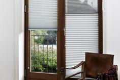 Faber Plisségardin model 131 sæt din gardin hvor du vil i vinduet - frit placeret. www.webgardiner.dk