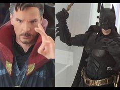S.H.Figuarts - Batman (The Dark Knight)& Doctor Strange バットマン & ドクター・ストレ...