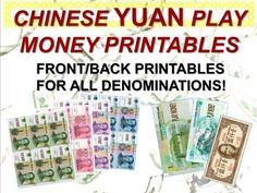 Chinese Currency, Vip Kid, Play Money, Spanish Lessons, Teacher Newsletter, Teacher Pay Teachers, Homeschool, Coins, Printables
