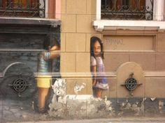 Arte da vida na Rua - São Paulo - Brasil