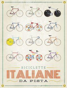 Biciclette Italiane da Pista - #siena #borgogrondaie