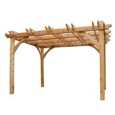 Shop Outdoor Living Today 13.5' x 13.5' x 9' Natural Western Red Cedar Wood Gazebo at Lowes.com