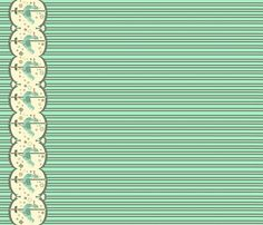 Dodo Cookie Carousel fabric by mintygal on Spoonflower - custom fabric