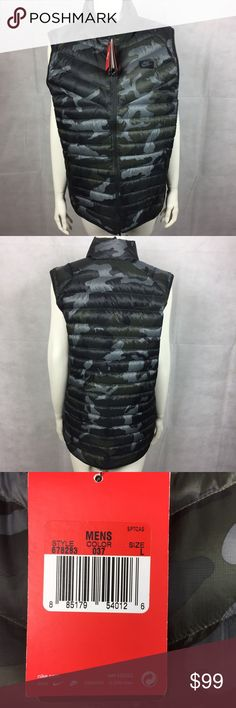 Nike vest camo Men's camouflage Nike Vest. Size: L color: brown and green camo Condition: New with tags Nike Jackets & Coats Vests