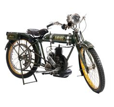 Motorcycle Knirps Sirius, 1930. Engine: 267 cm³, 74 kg. Triumphwerke, Nuremberg. On auction: Hampel, Munich.