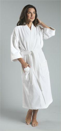 12oz. Ultimate Velour Terry Kimono Robe