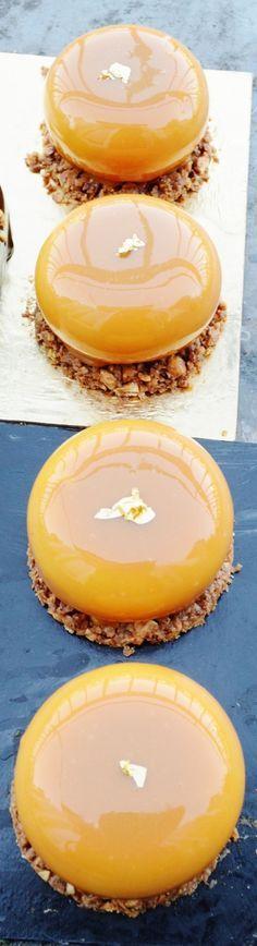 Petit gateau Stone caramel vanille tonka