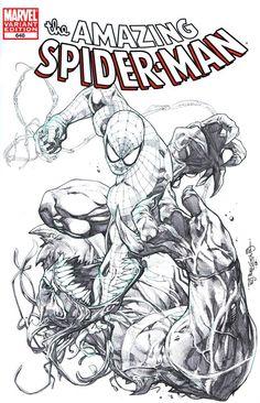 Spider-Man vs. Venom by Stephen Segovia