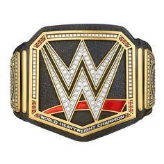 <p>Introducing the NEW WWE World Heavyweight Championship Kids Replica Title Belt!