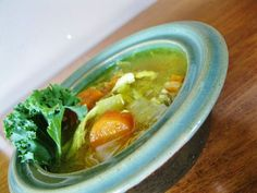source: s-media-cache-ak0.pinimg.com Plenty of ginger and kohlrabi are spicy additions to a classic soup. Cold-Busting Ginger Chicken Noodle Soup. If we wanted noodles with our soup, she would inst…