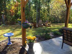 Backyard - Beautiful Lake Home for Sale on Lake James in Morganton NC - 1503 Brentwood Pl, Morganton, NC 28655