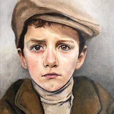 Herman, oil on canvas by Torunn Grønbekk Oil On Canvas, Portrait, Art, Art Background, Painted Canvas, Men Portrait, Kunst, Portraits, Art Education