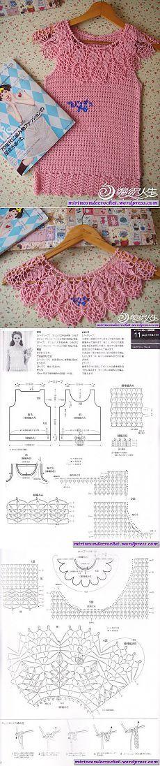 Una remera diferente…   Mi Rincon de Crochet