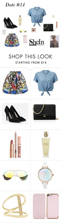 """""""Date #14!"""" by lizzie-raye ❤ liked on Polyvore featuring Miss Selfridge, CHARLES & KEITH, Michael Kors, Dolce Vita, Kat Burki, SW Global, Sydney Evan and Ted Baker"""