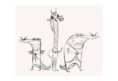Artes do seriado Commander Clark, de Aurore Damant | THECAB - The Concept Art Blog