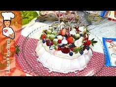 Fantastická Pavlova torta - YouTube Pavlova, Acai Bowl, Ale, The Creator, Breakfast, Desserts, Youtube, Eggs, Acai Berry Bowl
