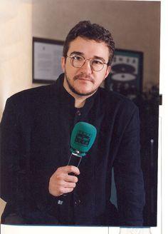 Javier Ruiz Taboada en Onda Cero durante la temporada 1996-1997