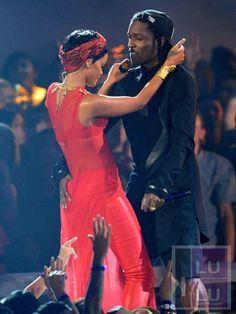 A$AP Rocky Joins Rihanna's Diamonds Tour