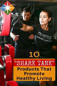 Are you willing to go into the 'shark tank'? These 'Shark Tank' products will help you live a healthier, fuller life--give them a try and tell us what you think!
