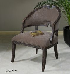 Onora Armless Chair by Carolyn Kinder