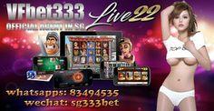VF BET333 No.1 Singapore Online Slot Site: VF BET333   ::::   SINGAPORE ONLINE SLOT GAME REGI...