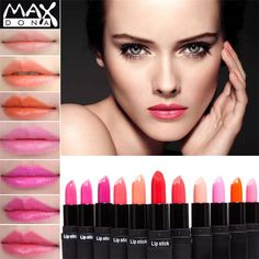 I found some amazing stuff, open it to learn more! Don't wait:http://m.dhgate.com/product/2017-new-hot-charm-max-lipstick-12-colors/395119007.html