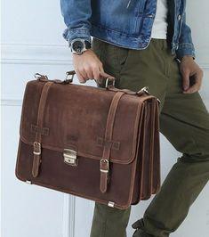 MANHATTAN BARNA 100% VALÓDI BŐR LAPTOPTÁSKA Manhattan, Messenger Bag, Satchel, Bags, Fashion, Laptop Tote, Boys, Leather, Handbags