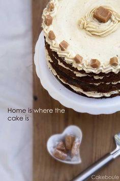 Sticky Toffee Pudding Layer Cake (Gluten Free)
