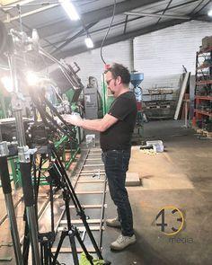 Une bonne journée de tournage qui reprend demain !  #tournage #industriel  #43media #reprise #2019 #filmmaking #lovewhatyoudo