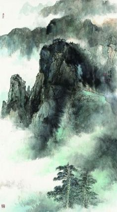 Landscape Painting by Tsai Ting-Hsin