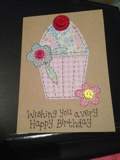 Cupcake Birthday Card :)