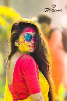 Holi Pictures, Holi Images, Girl Pictures, Holi Girls, Holi Photo, Beautiful Heroine, Hi Gorgeous, Girl Photography Poses, Colour Photography