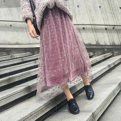 Women's Spring/Autumn Casual Vintage Elastic Waist Skirt | ZORKET