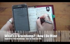 September Journals | Braindumps: What Are They & How Do I Do Them RhomanysRealm