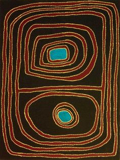 From Seva Frangos Art: Mawukura Jimmy Nerrimah, Waru atelier acrylic on canvas, 120 x 90 cm Image copyright and courtesy the artist Aboriginal Patterns, Aboriginal Artists, Modern Art, Contemporary Art, Australian Art, Indigenous Art, Global Art, Native Art, Dot Painting