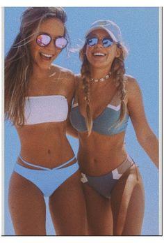 Cute Beach Pictures, Cute Friend Pictures, Bikini Pictures, Beach Pics, Bikini Photos, Swimsuit Pics, Foto Best Friend, Best Friend Photos, Friend Pics