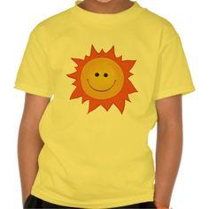 Happy Smiling Sun Kid T Shirt, Hoodie Sweatshirt