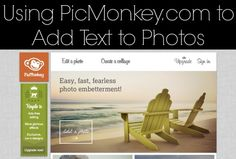 SUPER easy way to add text to your blog photos!! Every blogger must know!