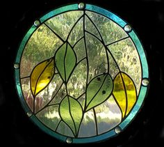 Leaves - Stained Glass