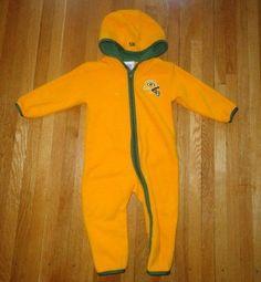 e97aa37a4 NFL Green Bay Packers Boy Girl Snowsuit Fleece 18 Months 18M Toddler #NFL # Snowsuit