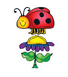 """This colorful, nature-themed bulletin board set includes:  A big ladybug (approx. 23.5"""" x 16.25"""" when assembled) A big flower A flower row 30 small ladybugs 28 flowers A resource guide  Illustrations © Dianne J. HookPublished by Carson-Dellosa Publishing, LLC© Carson-Dellosa Publishing, LLC"""
