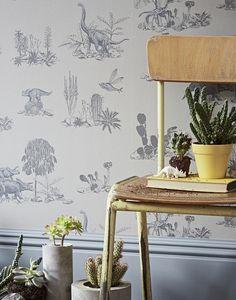 Sian Zeng Dino Grey wallpaper detail #botanical